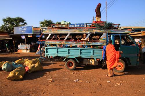Lokalny autobus do Pakse