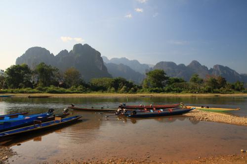 Góry i rzeka