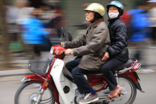 1,5 miliona motocykli w samym Hanoi