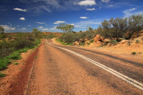 Droga przez Outback